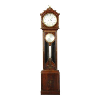 Irish Regency Eight Day Tall Case Clock