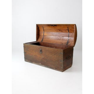 Antique Wooden Chest Preview
