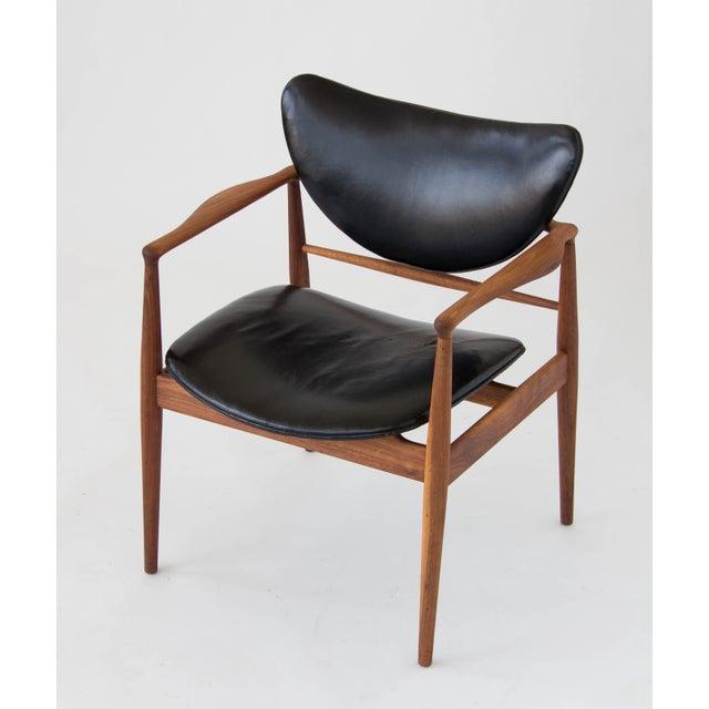 Baker Furniture Company Finn Juhl for Baker Furniture Model 48 Chair For Sale - Image 4 of 9