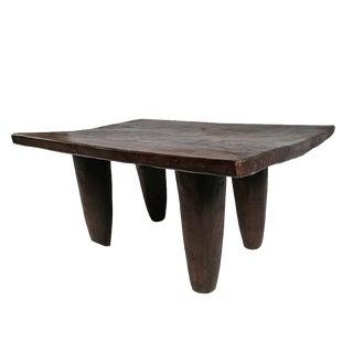 Senufo Tribal Stool Table For Sale