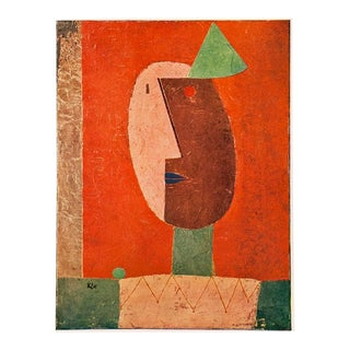 "1955 ""Clown"" Lithograph by Paul Klee For Sale"