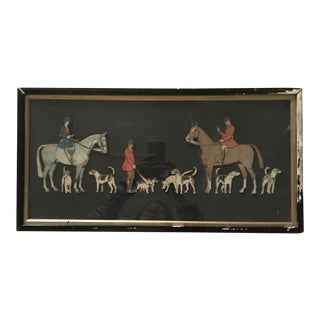 Early Twentieth Century Three Dimensional Hunting Scene For Sale