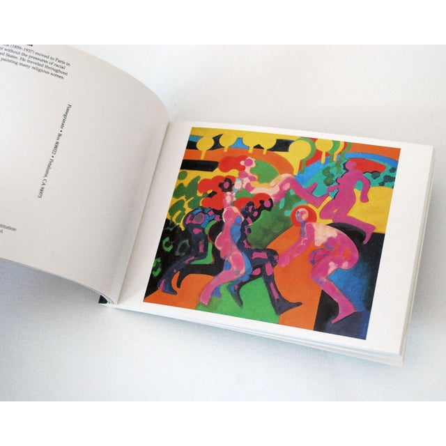 """Abstract Vintage """"Paintings by African-Americans"""" Postcard Book For Sale - Image 3 of 8"""