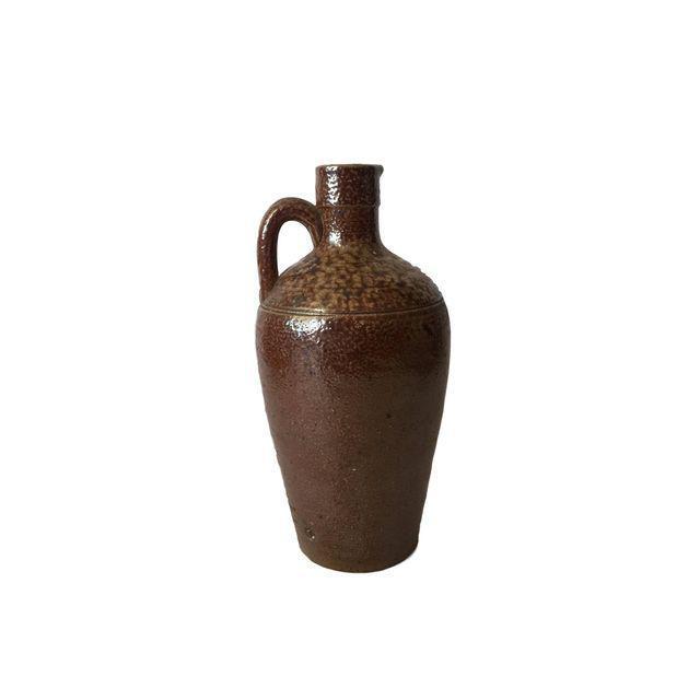 Brown Ceramic Southwestern Jug For Sale - Image 4 of 7