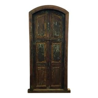 Rustic Weathered Oak Door