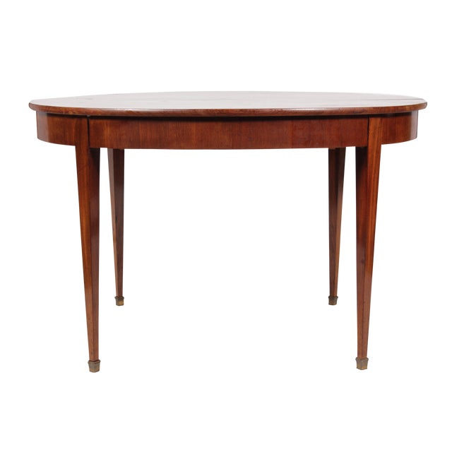 Antique Directoire-Style Dining Table For Sale