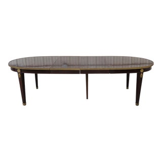 Early 20th Century Antique Maison Jansen Regency Style Dining Table For Sale