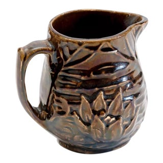 McCoy Lotus Flower Pitcher For Sale