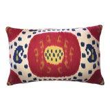 Image of Brunschwig & Fils Samarkand Ikat Bolster Pillow For Sale