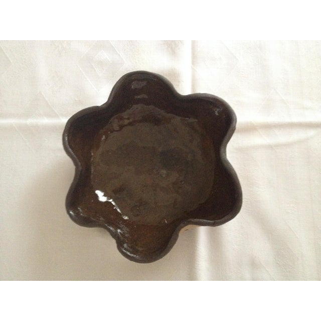 Patterned Handmade Pottery Bowl - Image 3 of 4