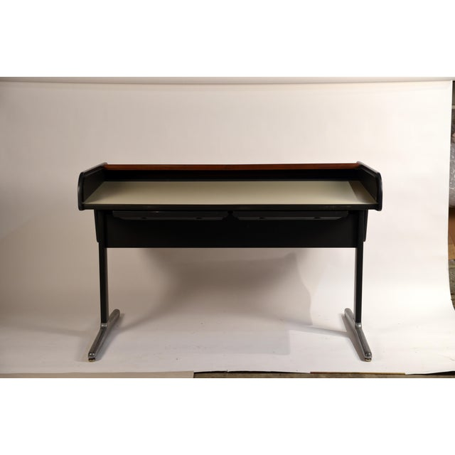 Contemporary 'Action Office 1' Roll Top Desk by George Nelson for Herman Miller For Sale - Image 3 of 13