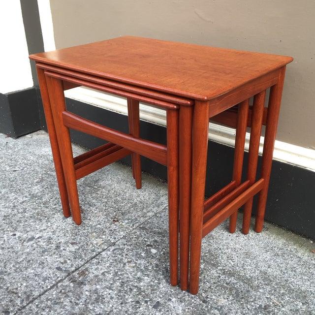 Hans Wegner Nesting Tables - Set of 3 - Image 4 of 11