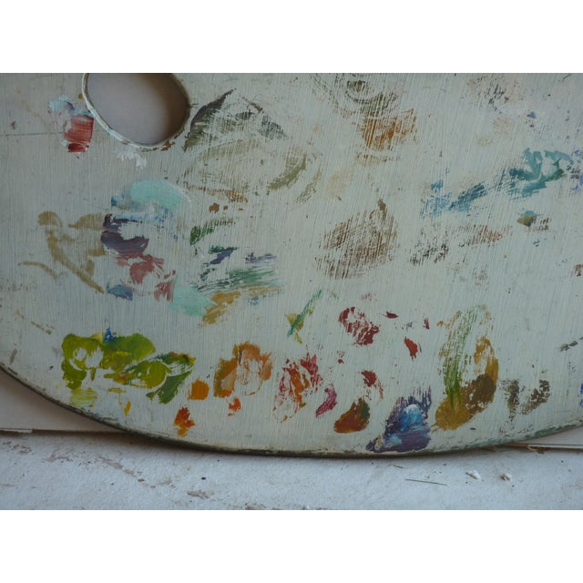 Americana Artist Palette For Sale - Image 3 of 4