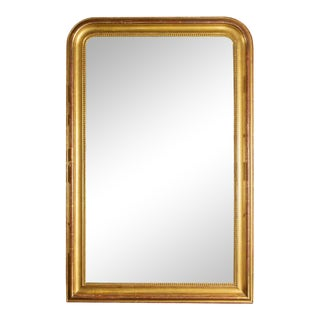 Large Antique French Gilt Louis Philippe Mirror, Circa 1830 For Sale