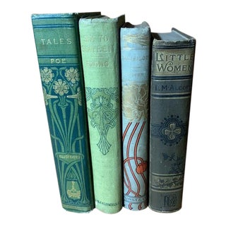 Turn of the Century Book Collection - Set of 4 For Sale