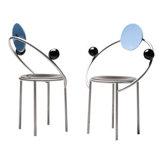 First Chair by Michele De Lucchi for Memphis