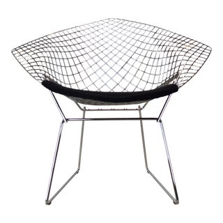 1980s Harry Bertoia Diamond Chair for Knoll For Sale