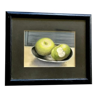 """Original Pastel Painting """"A Study in Health"""""""