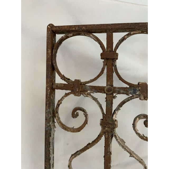 1920s Parisian Pedestrian Garden Gate For Sale In Los Angeles - Image 6 of 13