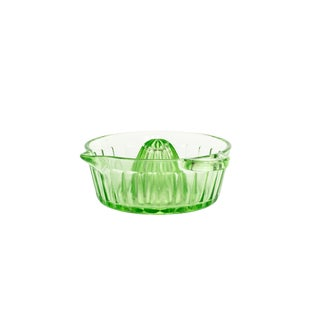 Small Iridescent Green Juicer For Sale
