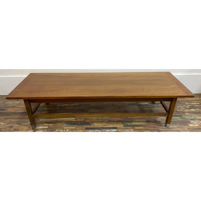 1960s Mid Century Modern Distinctive, Stanley Furniture Coffee Table