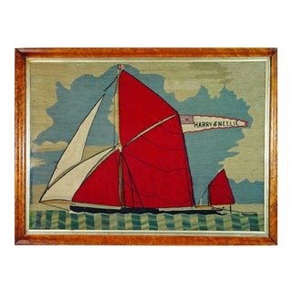 Sailor's Woolwork of a Thames Barge
