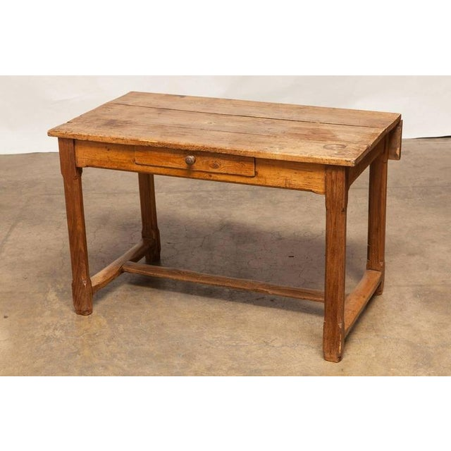 19th Century French Farmhouse Kitchen Table & Leaves - Image 2 of 10