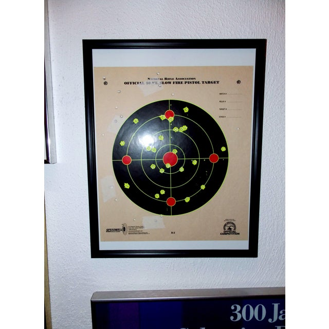 Framed NRA Shooting Target - Image 5 of 11