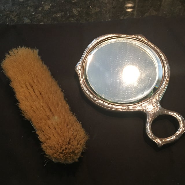 Sterling Victorian Mirror Set - Image 5 of 7