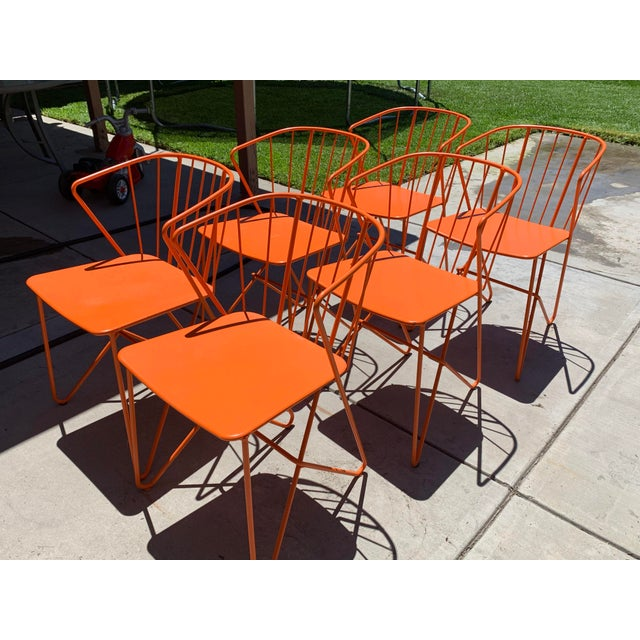 Fermob Flower Patio Chairs For Sale In Los Angeles - Image 6 of 6