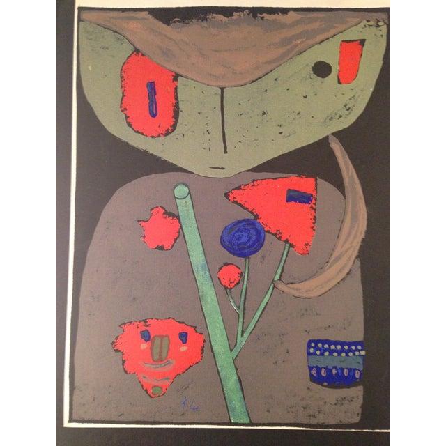 "Paul Klee ""Figure of the Oriental Stage"" Print - Image 3 of 3"