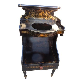 Pre-Civil War Hitchock Wash Stand For Sale