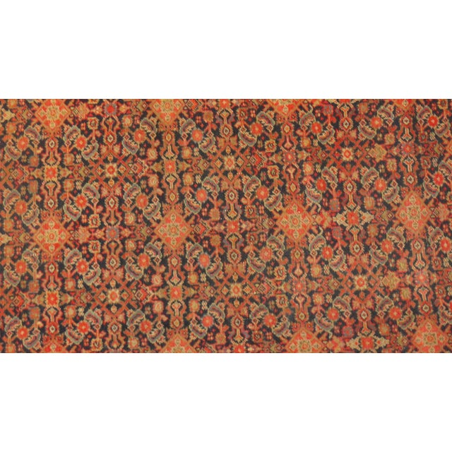 "Antique Persian Malayer Runner Rug - 15'5"" x 3'2"" - Image 2 of 4"