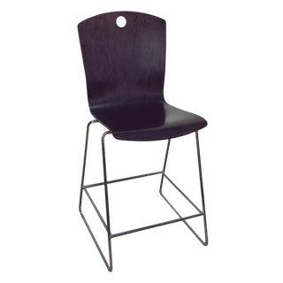 "Modern Purple Leland International ""The Marquette"" Bar Chair For Sale"