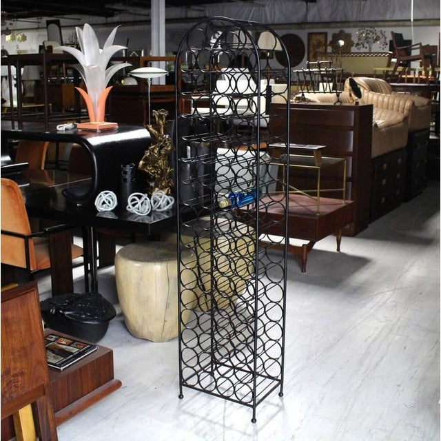 Wrought Iron Wine Rack For Sale In New York - Image 6 of 6