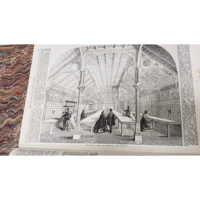 Two Volumes Illustrated London News Books 861 and 1867 - Set of 2 For Sale - Image 11 of 13