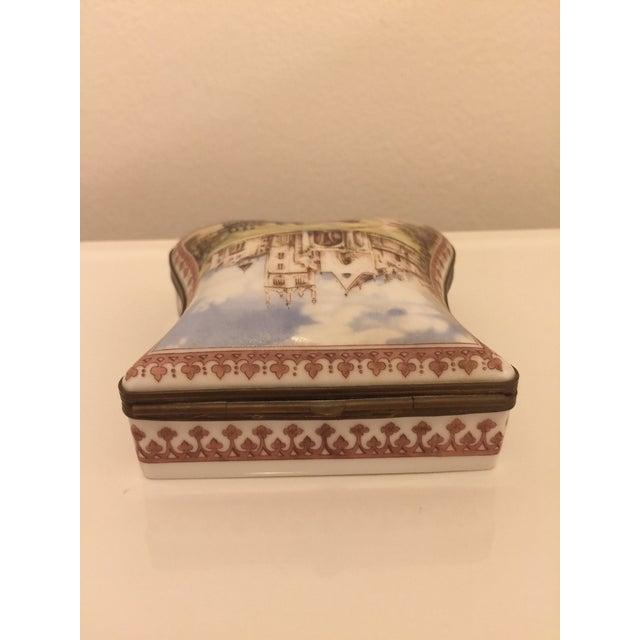 French Vintage Porcelain De Paris Boxes - Set of 5 For Sale - Image 3 of 12