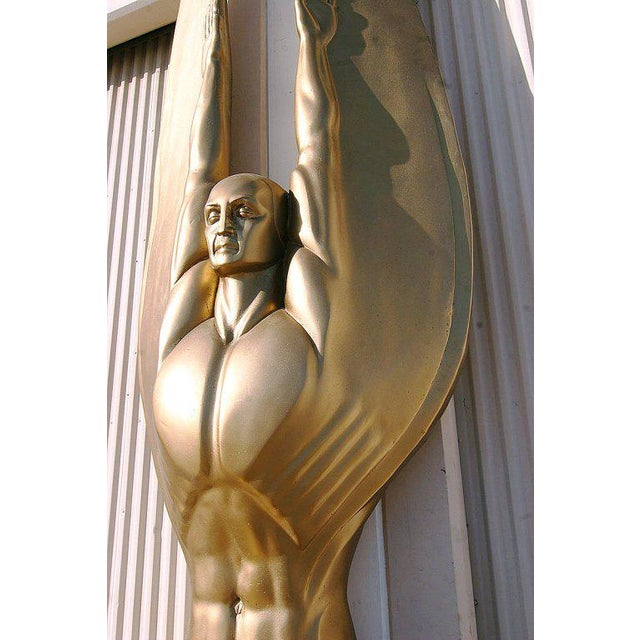 "Art Deco Angel Sculpture ""Wings of the Republic"" - Image 8 of 10"