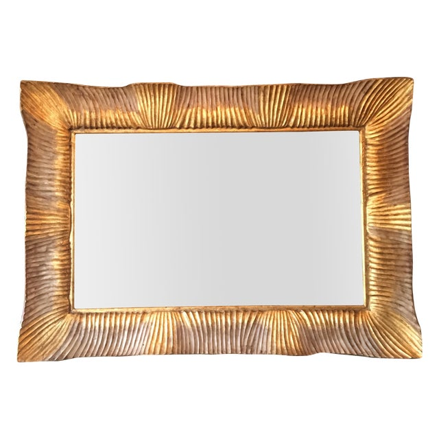 Fantastic Italian Gilded Mirror, 3' X 4' - Image 1 of 8