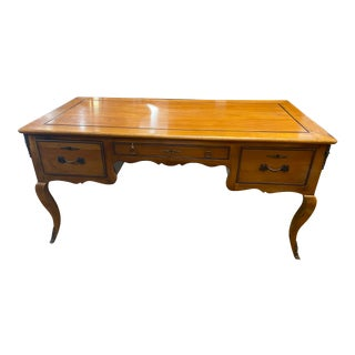 Louis XVI French Wood Writing Desk For Sale