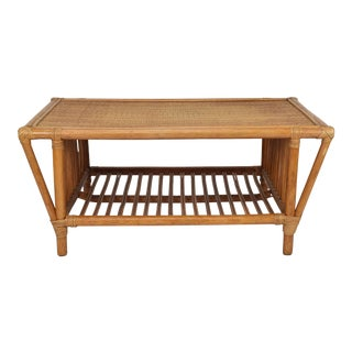 Rattan & Coffee Table