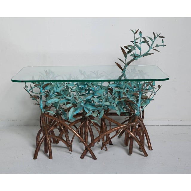 Copper Mangrove Coffee Table by Garland Faulkner For Sale - Image 12 of 13
