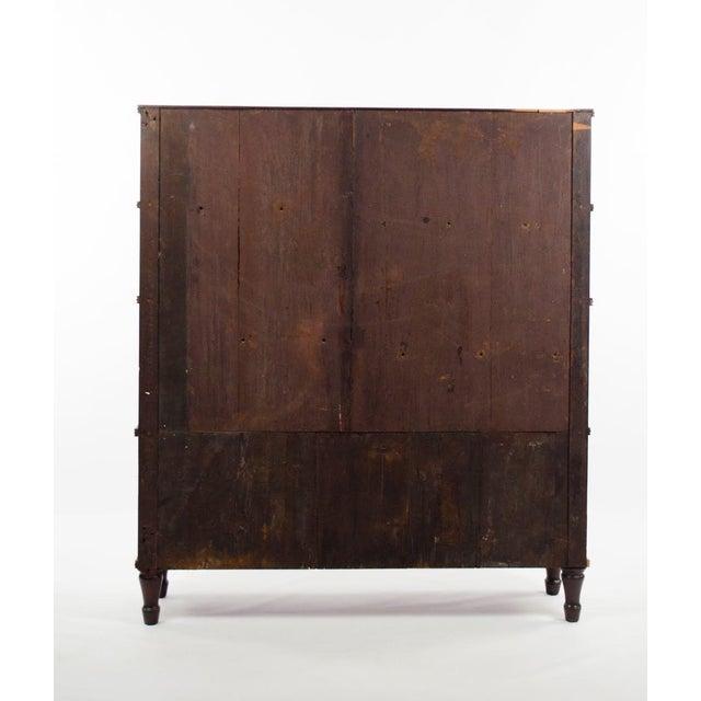 19th Century English Traditional Mahogany 3 Shelf Etagere For Sale - Image 10 of 13