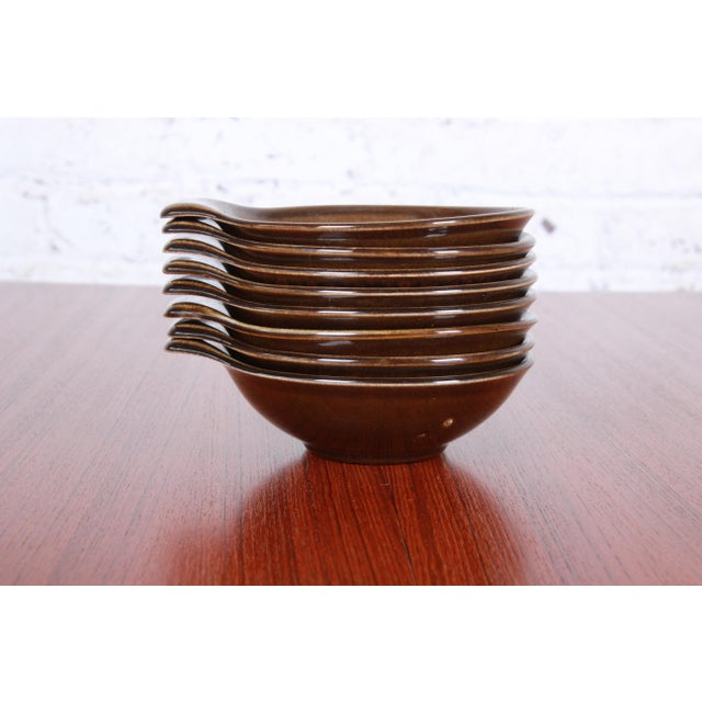 Contemporary 1940s Russel Wright for Steubenville Pottery American Modern 28-Piece Dinnerware Set For Sale - Image 3 of 13