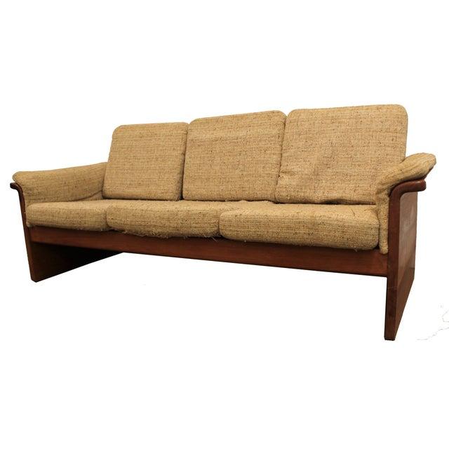 Mid-Century Danish Modern Teak Sofa by Mobler - Image 1 of 10