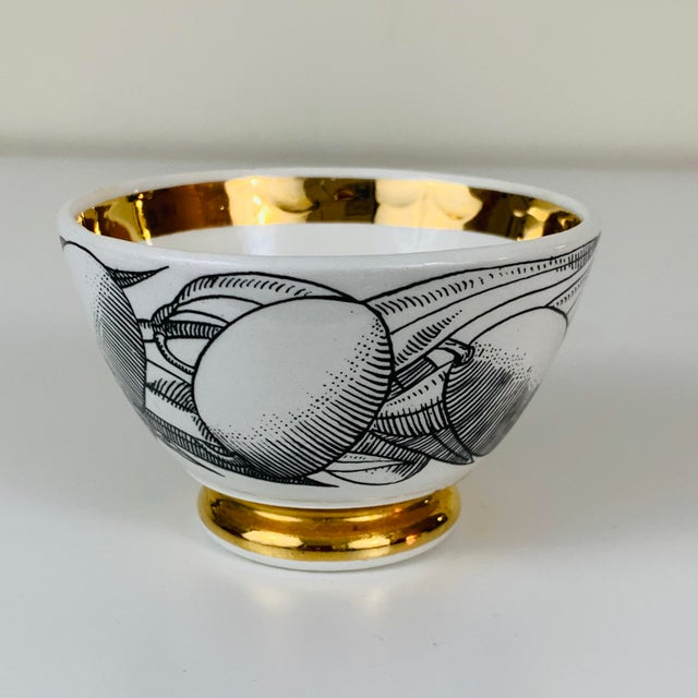 White 1960s Piero Fornasetti Snack Bowls - Set of 3 For Sale - Image 8 of 13