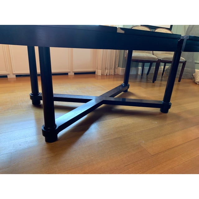 Barbara Barry for Baker Mahogany Ambassador Oval Dining Table For Sale - Image 9 of 13