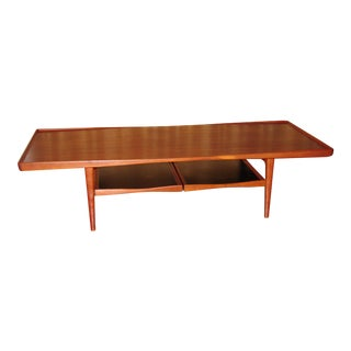Danish Modern Selig Coffee Table For Sale