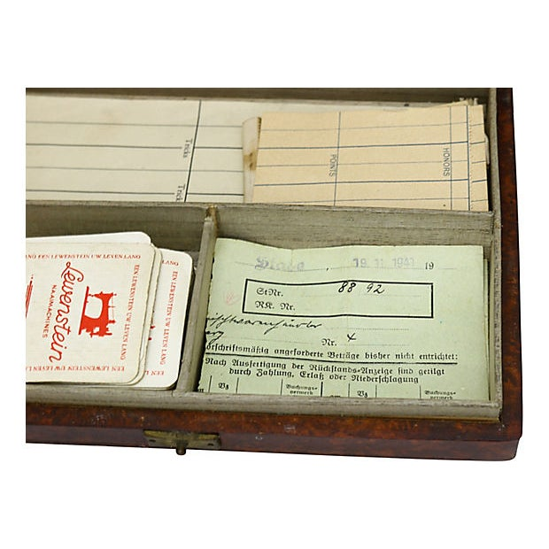 1941 German Bridge Players Box For Sale - Image 4 of 5