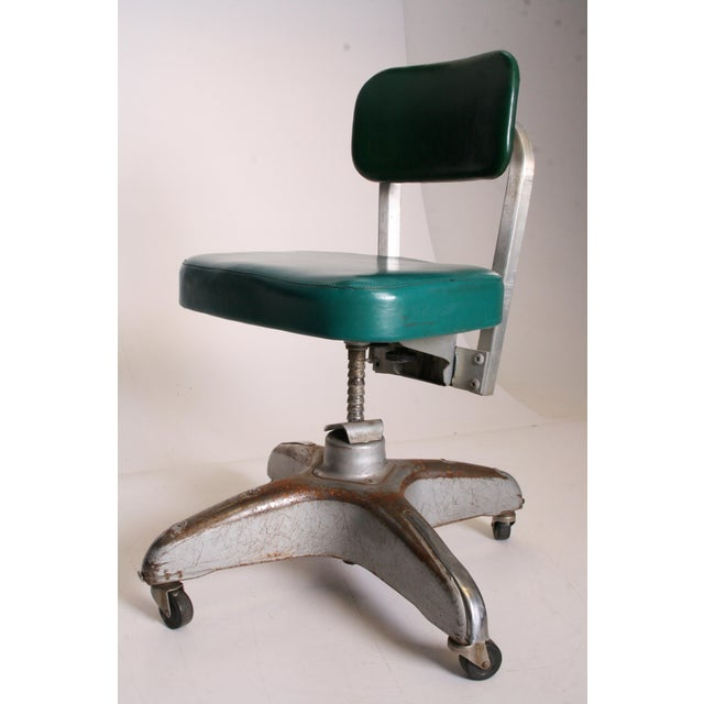 Vintage Industrial Swivel Office Chair by Cole Steel - Image 3 of 11